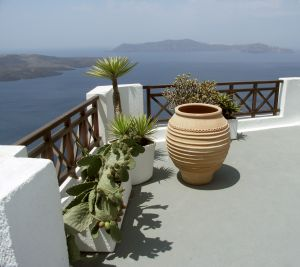 Ausblick wie in Griechenland